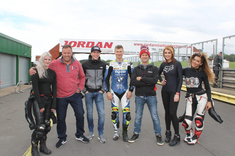 Jamie Whitham's Motorcycle Track Training // Mallory Park